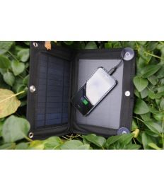 "ZAXGEAR ST-75 6 WATT SOLAR PANEL WITH BATTERY ""THE BOOK"""