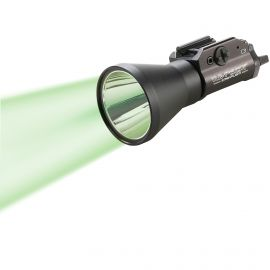 STREAMLIGHT TLR-1 GAME SPOTTER LONG GUN C4 GREEN LED W/ 150 LUMENS