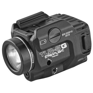 STREAMLIGHT TLR-8G LOW PROFILE RAIL MOUNTED WEAPON LIGHT/GREEN LASER COMBO
