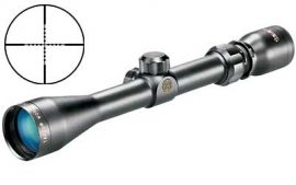 "TASCO WORLD CLASS RIFLE SCOPE 3-9X40 1"" MIL-DOT RETICLE WIDE ANGLE MATTE FINISH"