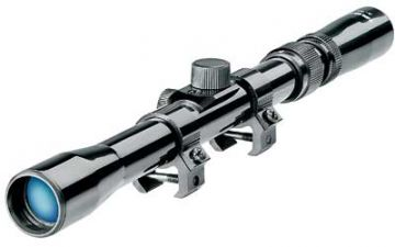 TASCO RIMFIRE RIFLE SCOPE 3-7X20MM 30/30 RETICLE MATTE BLACK