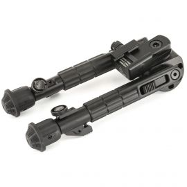 LEAPERS INC. UTG HEAVY DUTY RECON BIPOD 6.7-9.1 INCH ADJUSTABLE 360-DEGREE