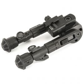 LEAPERS INC. UTG HEAVY DUTY RECON BIPOD 5.59-7.0 INCH ADJUSTABLE 360-DEGREE