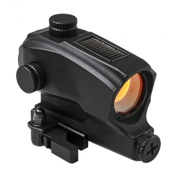 VISM/NCSTAR SPD 1X30 SOLAR REFLEX SIGHT RED DOT W/ QUICK RELEASE PICATINNY