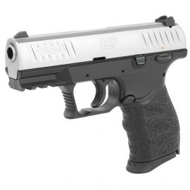"WALTHER CCP M2 PISTOL 9MM 3.54"" BARREL STAINLESS FINISH W/ 2-8 ROUND MAGAZINES"