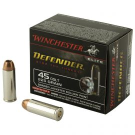 WINCHESTER DEFENDER PDX1 45LC 225GR JHP 20/200