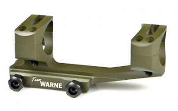 WARNE SCOPE MOUNTS GEN 2 EXTENDED SKELETONIZED 30MM MSR AR MOUNT OD