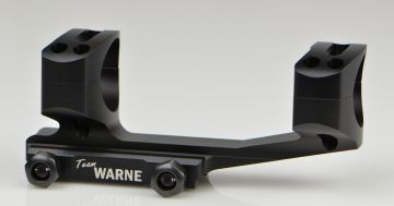 WARNE SCOPE MOUNTS GEN 2 EXTENDED SKELETONIZED 30MM MSR AR MOUNT BLACK