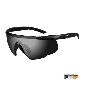 WILEY X SABER ADVANCED SUNGLASSES 3 LENS PACKAGE