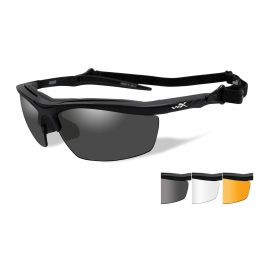 WILEY X GUARD SUNGLASSES 3 COLORED LENS SET