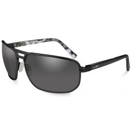 WILEY X HAYDEN SMOKE GREY SUNGLASSES BLACK MATTE FRAME