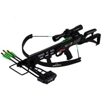 SA SPORTS EMPIRE TERMINATOR RECON CROSSBOW PACKAGE W/SCOPE 175LB 260 FPS