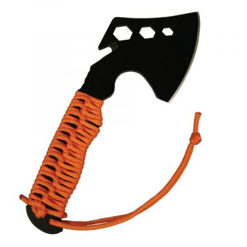 ULTIMATE SURVIVAL TECHNOLOGIES PARAHATCHET w/ FIRE STARTER ORANGE