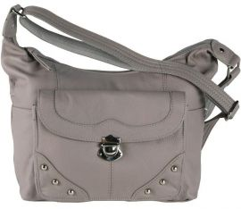 Concealed Carry Cowhide Leather Cross Body Purse