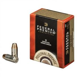 FEDERAL HYDRA-SHOK 10MM 180GR HP 20/500 SELF DEFENSE