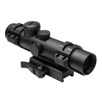 NCSTAR XRS COMPACT SCOPE 2-7X32 MIL DOT RETICLE BLUE ILLUMINATED
