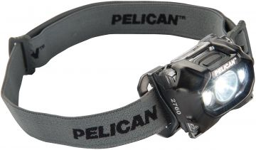 PELICAN 2760C HEADLAMP LIGHT BLACK LED