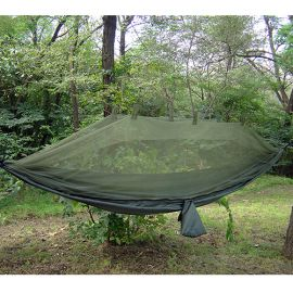 PROFORCE EQUIPMENT SNUGPAK JUNGLE HAMMOCK W/MOSQUITO NET OLIVE