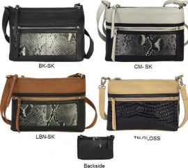 CONCEALED CARRY CLUTCH OR CROSS BODY PURSE