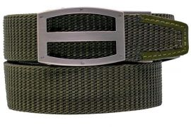 NEXBELT EDC TITAN PRECISEFIT GUN BELT V.4 W/ RATCHET TIGHTENING SYSTEM - OD GREEN