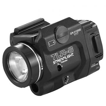 STREAMLIGHT TLR-8 LOW PROFILE RAIL MOUNTED WEAPON LIGHT/RED LASER COMBO
