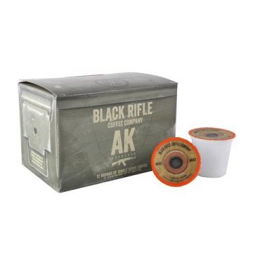 BLACK RIFLE COFFEE AK-47 ESPRESSO BLEND (Coffee Selection: Coffee Rounds)