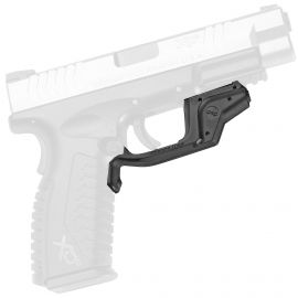 CTC LASERGUARD RED/GREEN LASER SIGHT - MULTIPLE HANDGUNS (Handgun Model: Springfield XD/XDM, Color: Red)