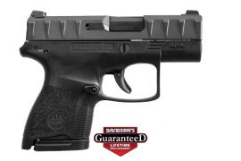 "BERETTA APX CARRY SUB COMPACT 9MM 3.07"" BARREL IN BLACK, FDE, ODG (Color: Black/Black)"