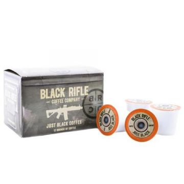 BLACK RIFLE COFFEE JUST BLACK (Coffee Selection: Coffee Rounds)