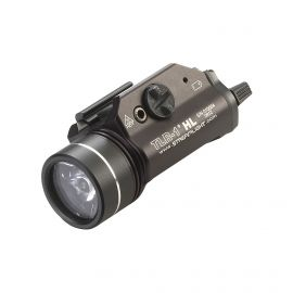 STREAMLIGHT TLR-1 HL TACTICAL LIGHT W/ STROBE 800 LUMENS BLACK/FDE (Color: Black)