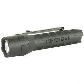 STREAMLIGHT POLYTAC X FLASHLIGHT 600 LUMENS W/ 18650 USB BATTERY CB & BLK (Color: Black/Black)