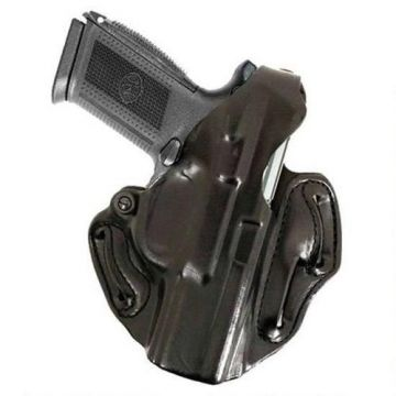 DeSantis Gunhide Thumb Break Scabbard Belt Holster (Handgun Model: Glock 26/27/33, Right / Left Handed: Right Hand, Color: Black/Black)